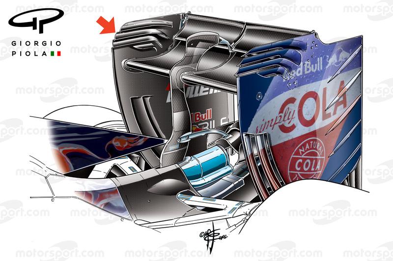Toro Rosso STR11 alerón trasero Barcelona