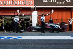 """فرناندو ألونسو، سيارة مكلارين """"أم.بي4-31""""، التدرب على وقفات الصيانة"""
