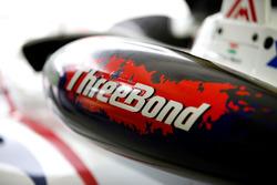 Arjun Maini, ThreeBond with T-Sport, Dallara F312  ThreeBond, ThreeBond airbox