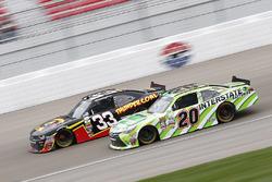 Brandon Jones, Richard Childress Racing Chevrolet; Erik Jones, Joe Gibbs Racing Toyota