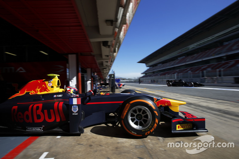 Pierre Gasly, Prema Powerteam, Status Grand Prix
