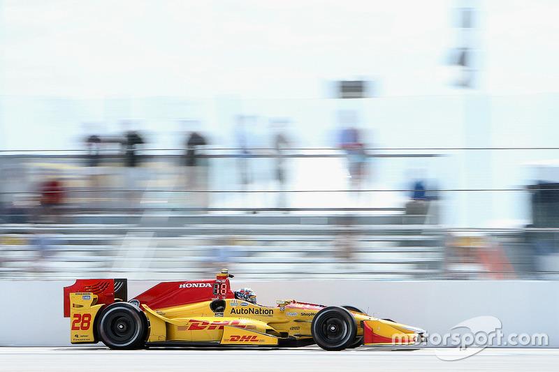 #28 Ryan Hunter-Reay (Andretti-Honda)