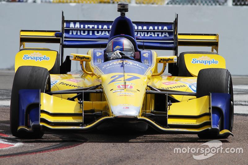 #27 Marco Andretti (Andretti-Honda)