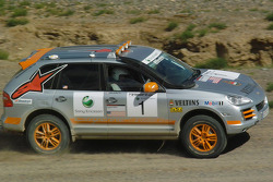 #1 Team USA Porsche Cayenne S Transsyberia: Ryan Millen and Colin Godby