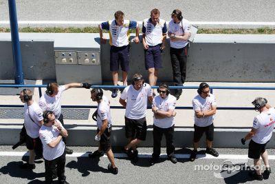 Test à Jerez en juillet