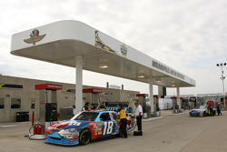 M&M Toyota at refuel station