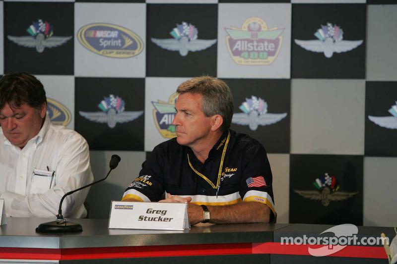 NASCAR Goodyear press conference: Greg Stucker, Goodyear