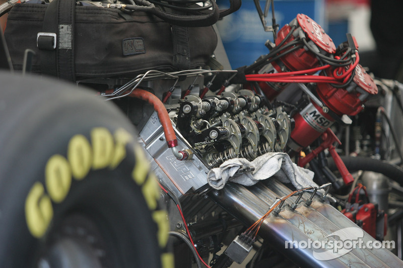 Top Fuel Engine At Sonoma