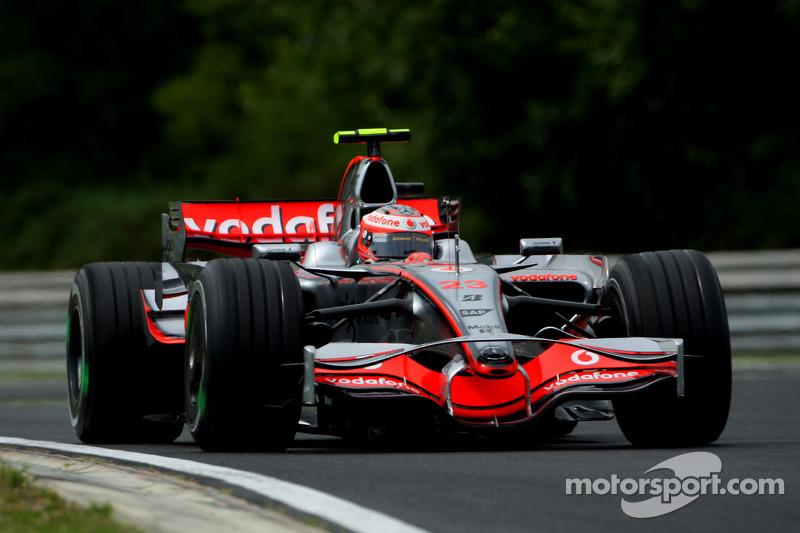 Heikki Kovalainen: GP Ungarn 2008 in Budapest