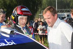 Mikko Hirvonen et Tommi Makinen