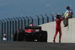 Motorschaden: Felipe Massa, Scuderia Ferrari, F2008