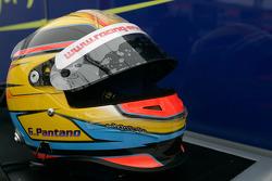 Giorgio Pantano crash helmet