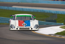 #59 Brumos Racing Porsche Riley: Joao Barbosa, JC France