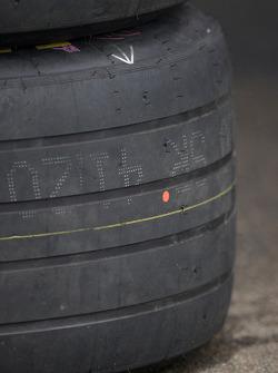 Rain tires ready to go