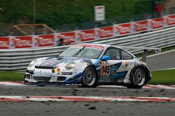 #145 Christian Kelders (First Motorsport) Porsche 911 GT3 Cup S: François Duval, Christian Kelders, Philippe Greisch, Christophe Kerkhove