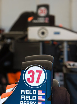 Detail of the Intersport Racing Lola B06/10 AER
