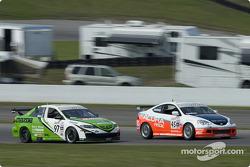 #97 Mazda 6: Chip Herr, #45 Acura RSX: Glenn Bocchino