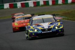 #19 Wedssport IS350: Manabu Orido, Tsubasa Abe, Yuhi Sekiguchi