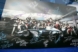 Formula One and GP2 Drivers unite for solidarity: all 26 GP2 drivers signatures and messages of solidarity