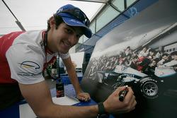 Formula One and GP2 Drivers unite for solidarity: Bruno Senna