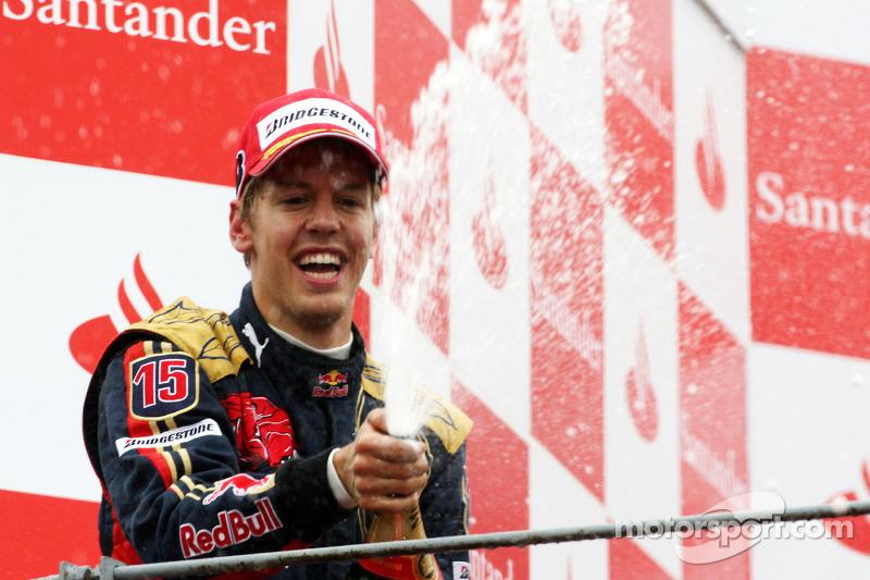 #3: Sebastian Vettel, GP Italien 2008 (21 Jahre, 73 Tage)