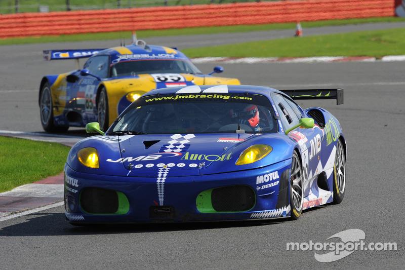 #99 JMB Ferrari F430 GT: Stéphane Daoudi, Ben Aucott