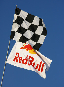 Flags on Indianapolis Motor Speedway