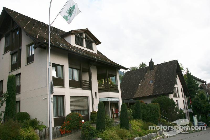 Візит до рідного міста Себастьяна Феттеля - Вальхвіль, Швейцарія