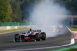 1st lap at Les Combes: Jens Renstrup (DK) TopSpeed, WS Dallara Renault 3.5 V6