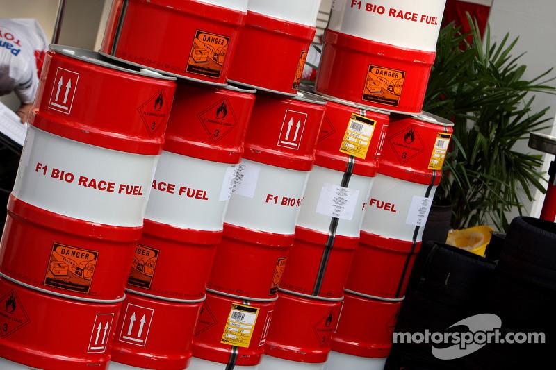 Toyota F1 Team, Rennbenzin