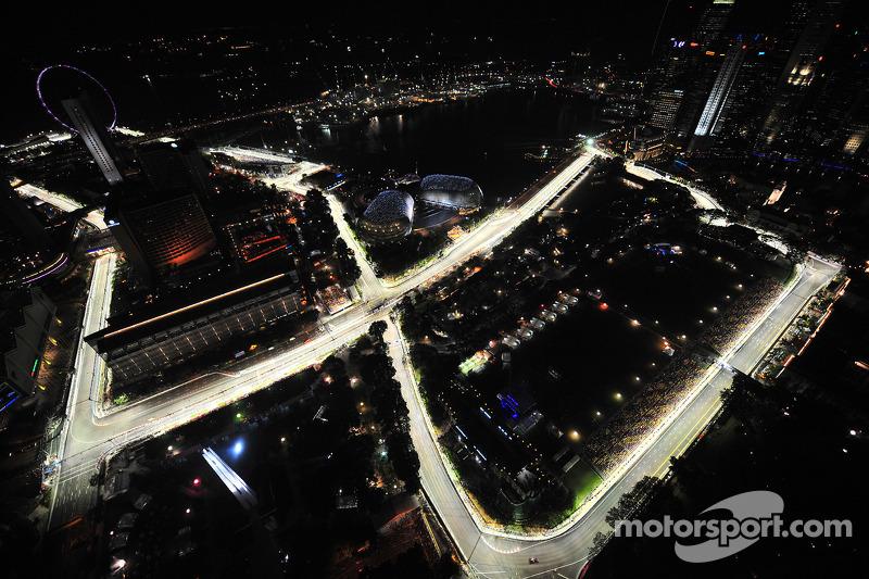 Neuland für die Formel 1: Marina Bay Circuit und Rennen unter Flutlicht