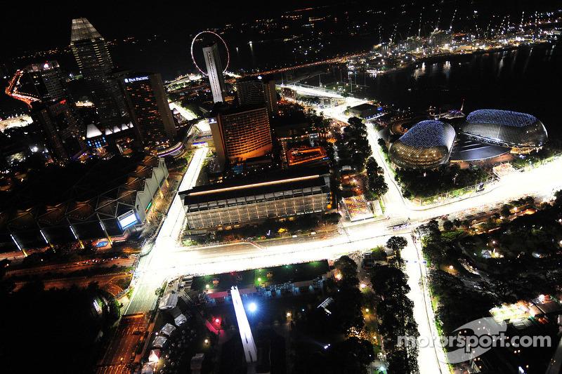 Marina Bay Circuit in Singapur