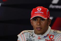 FIA press conference: second place Lewis Hamilton