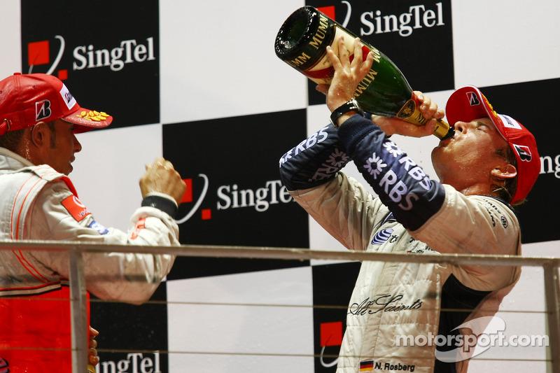 2008: Segundo podio, otra vez junto a Hamilton