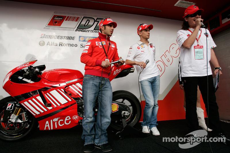 Ducati Desmosedici 2008 - Marco Melandri e Casey Stoner