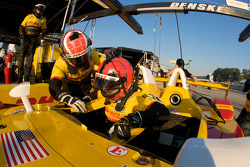 Pilotes  #5 Penske Racing Porsche RS Spyder: Helio Castroneves, Ryan Briscoe