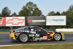 #28 LG Motorsports Chevrolet Riley Corvette C6: Lou Gigliotti, Tomy Drissi, Marc Goossens