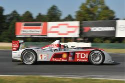 #1 Audi Sport North America Audi R10 TDI: Rinaldo Capello, Allan McNish, Emanuele Pirro