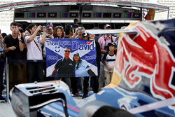 David Coulthard, Red Bull Racing, fans