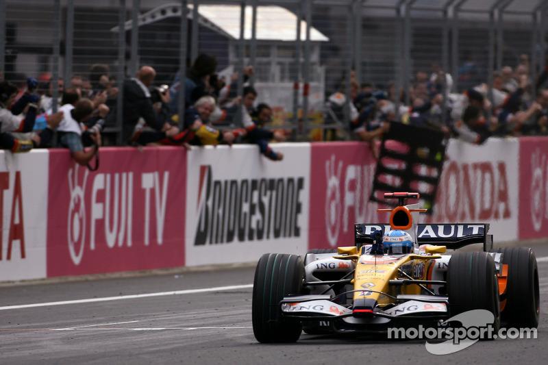 2008 - Suzuka: Fernando Alonso, Renault R28