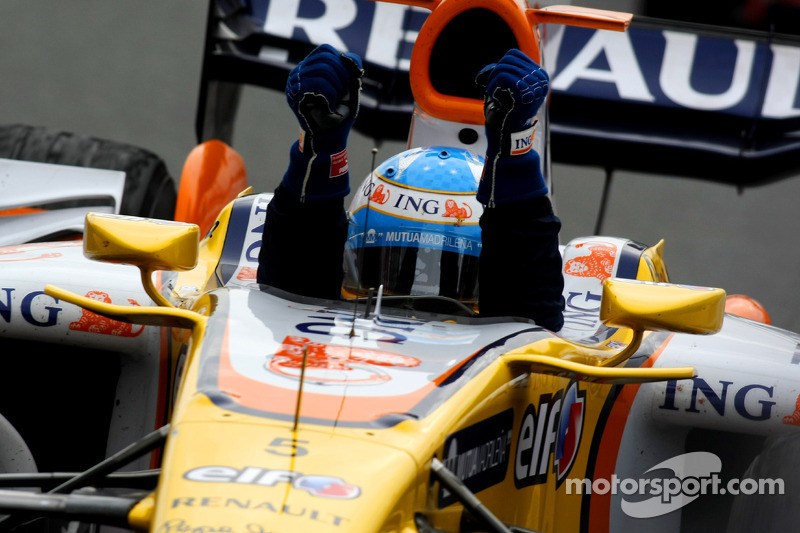 2008: Fernando Alonso, Renault