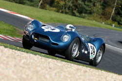 Trevor Groom et Michael Quinn, Lister-Jaguar Knobbly, 1959