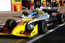 #11 Walter Colacino, IRL G-Force, #65 Alain De Blandre, CART Lola
