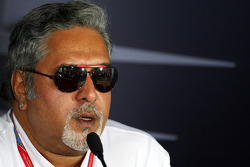 FIA press conference: Vijay Mallya, Force India F1 Team, Owner and Kingfisher CEO