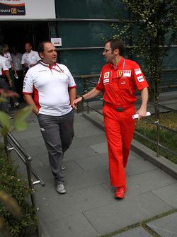 Colin Kolles, Force India F1 Team, Team Principal, Stefano Domenicali, Scuderia Ferrari, Sporting Director