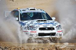 #20 David Scialom Subaru Impreza STI: David Scialom and Thomas Mathias