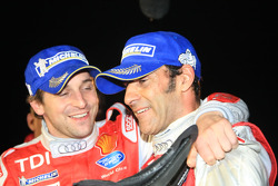 Emanuele Pirro and Christijan Albers