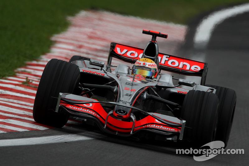 マクラーレンMP4-23・メルセデス(ルイス・ハミルトン/2008年ブラジルGP)