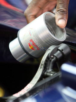 Red Bull Racing pit equipment