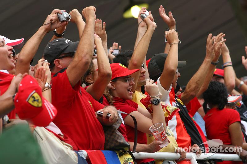 Felipe Massa, Scuderia Ferrari fans